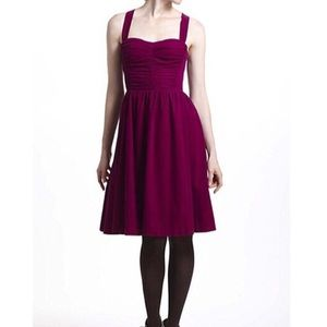 HD in Paris Paca dress Ruched Fit and Flare Size 2